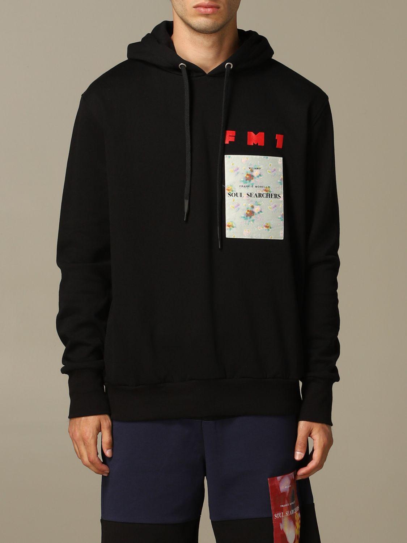 Sweatshirt men Frankie Morello black 1