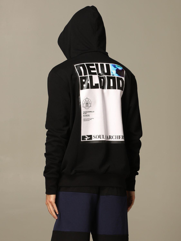 Sweatshirt men Frankie Morello black 2
