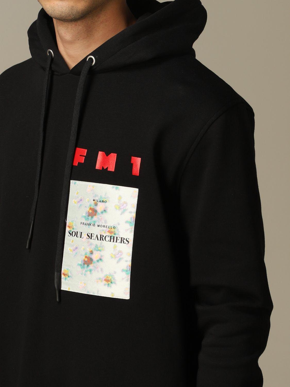 Sweatshirt men Frankie Morello black 3