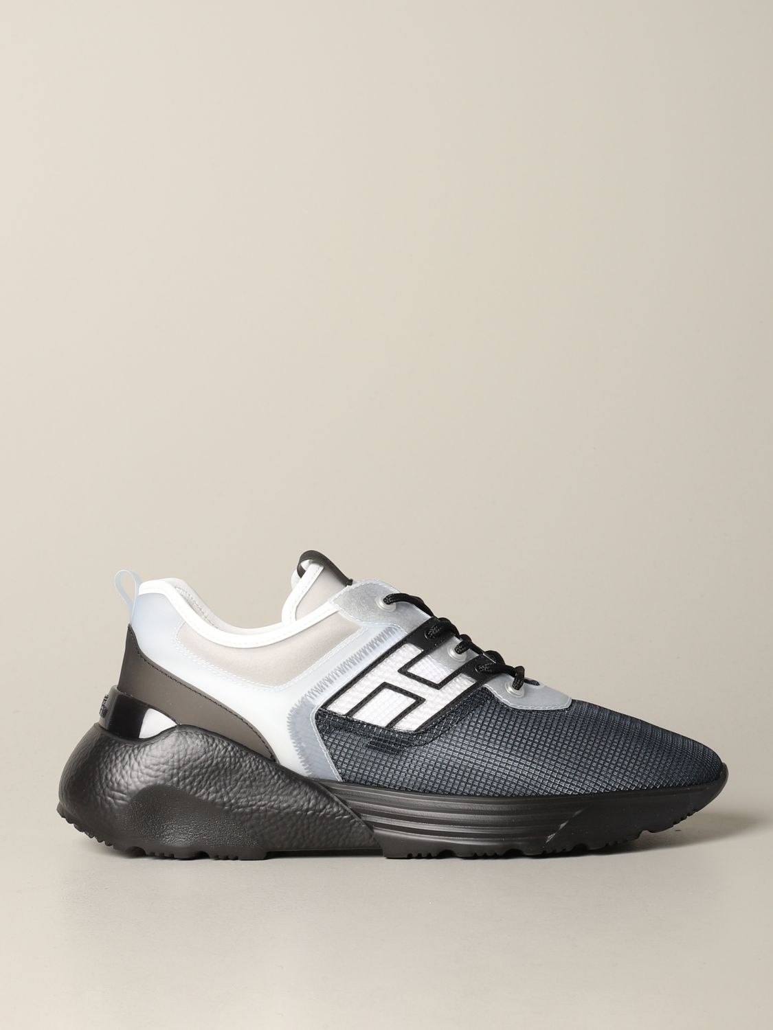 Active 1 Hogan sneakers in rubber leather and mesh