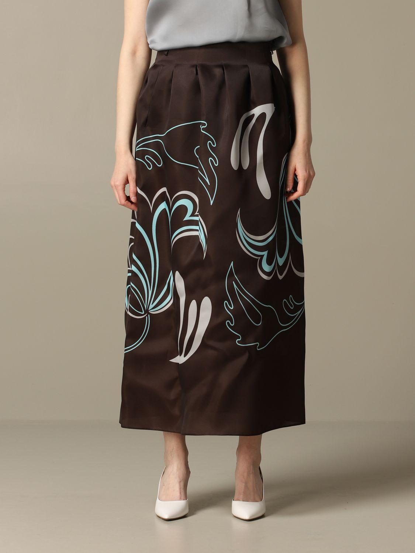 Skirt women Giorgio Armani brown 1