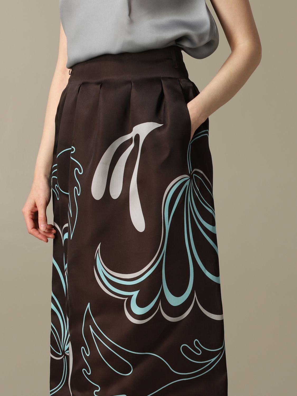 Skirt women Giorgio Armani brown 3