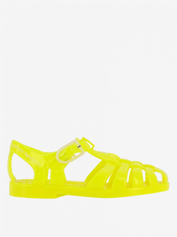 Shoes kids Emporio Armani yellow 1