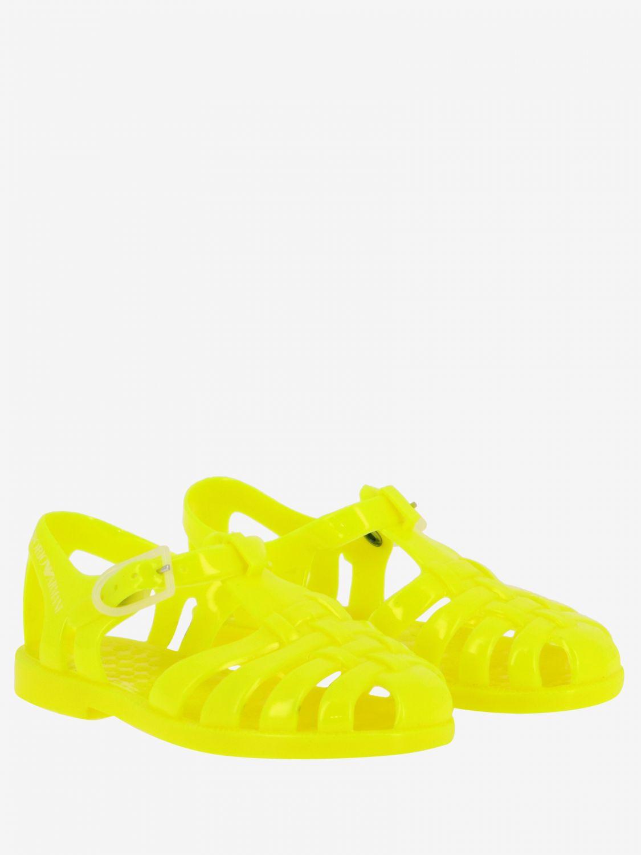Shoes kids Emporio Armani yellow 2