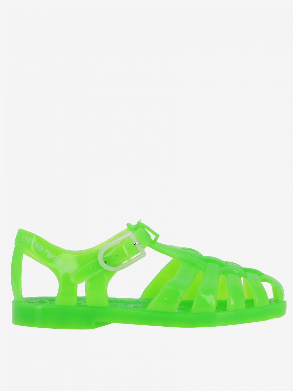 Zapatos niños Emporio Armani verde 1