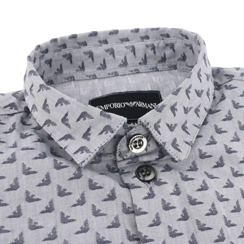 Camisa niños Emporio Armani azul claro 2