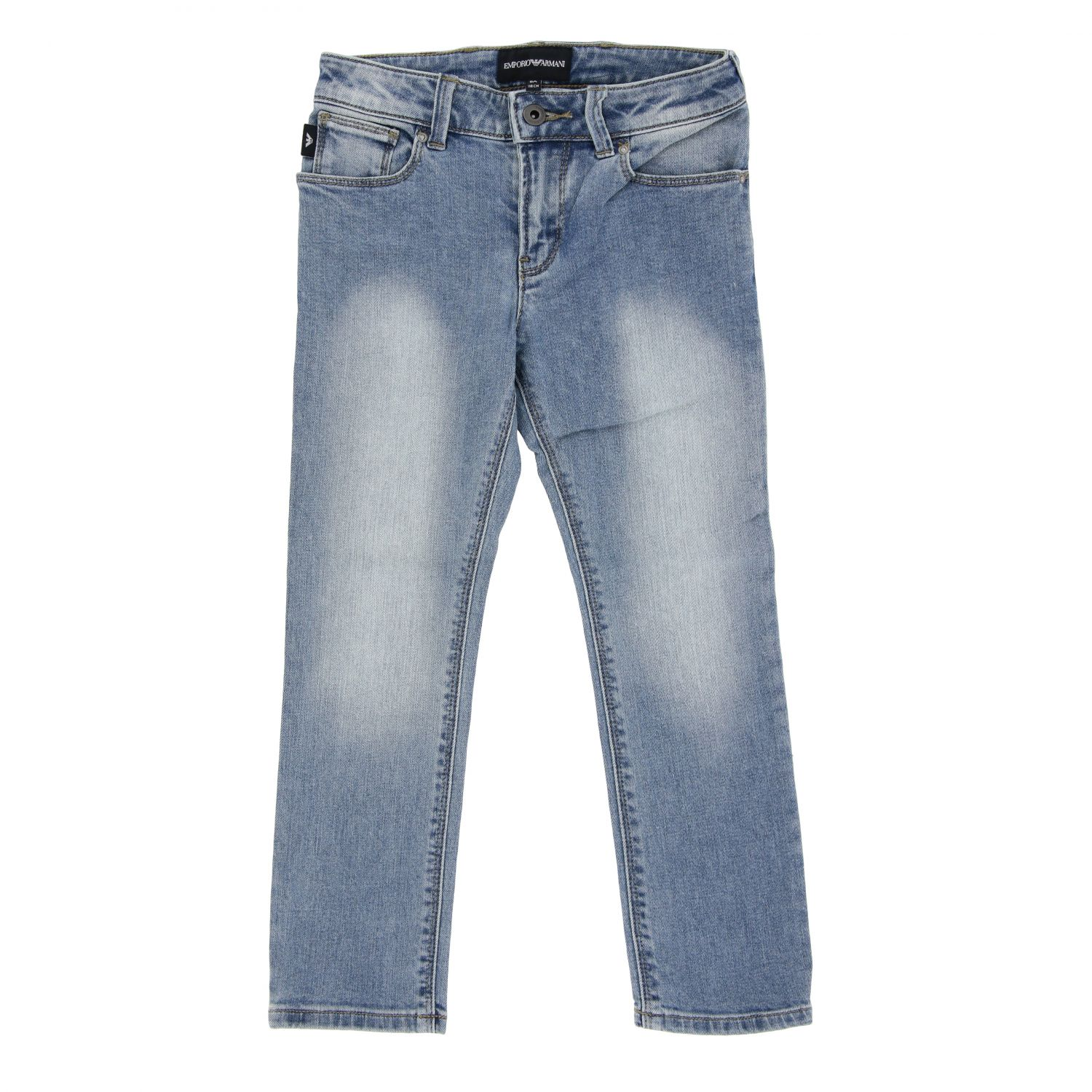 Emporio Armani jeans in used denim stone washed 1