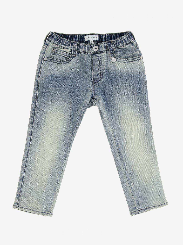 Emporio Armani 修身牛仔裤 石色 1