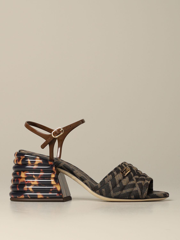 fendi canvas shoes