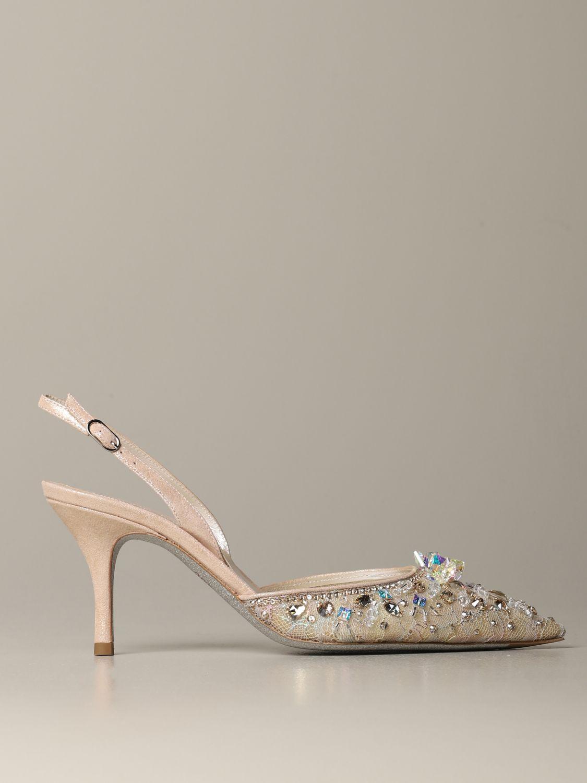 鞋 女士 Rene Caovilla 粉末色 1