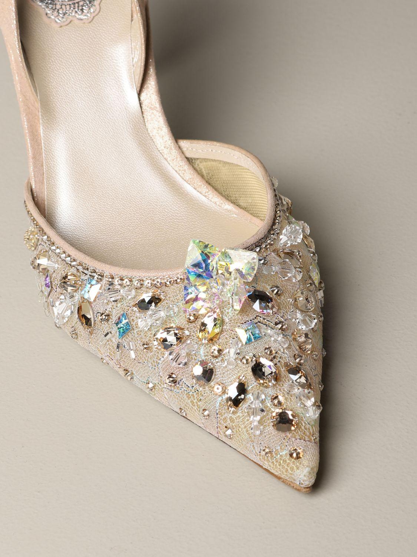 鞋 女士 Rene Caovilla 粉末色 3
