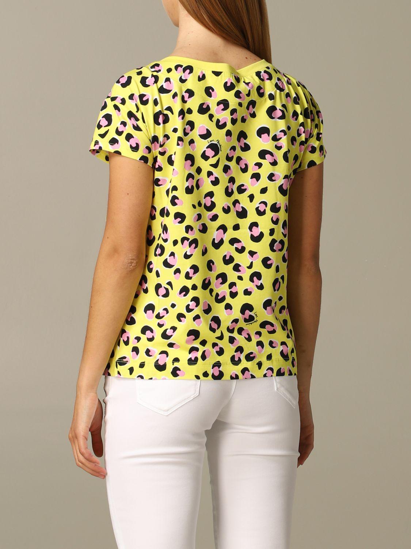 T-shirt damen Love Moschino gelb 2