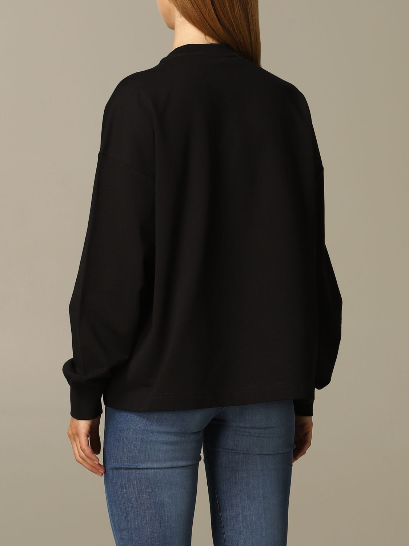 Love Moschino sweatshirt with logo and heart black 2