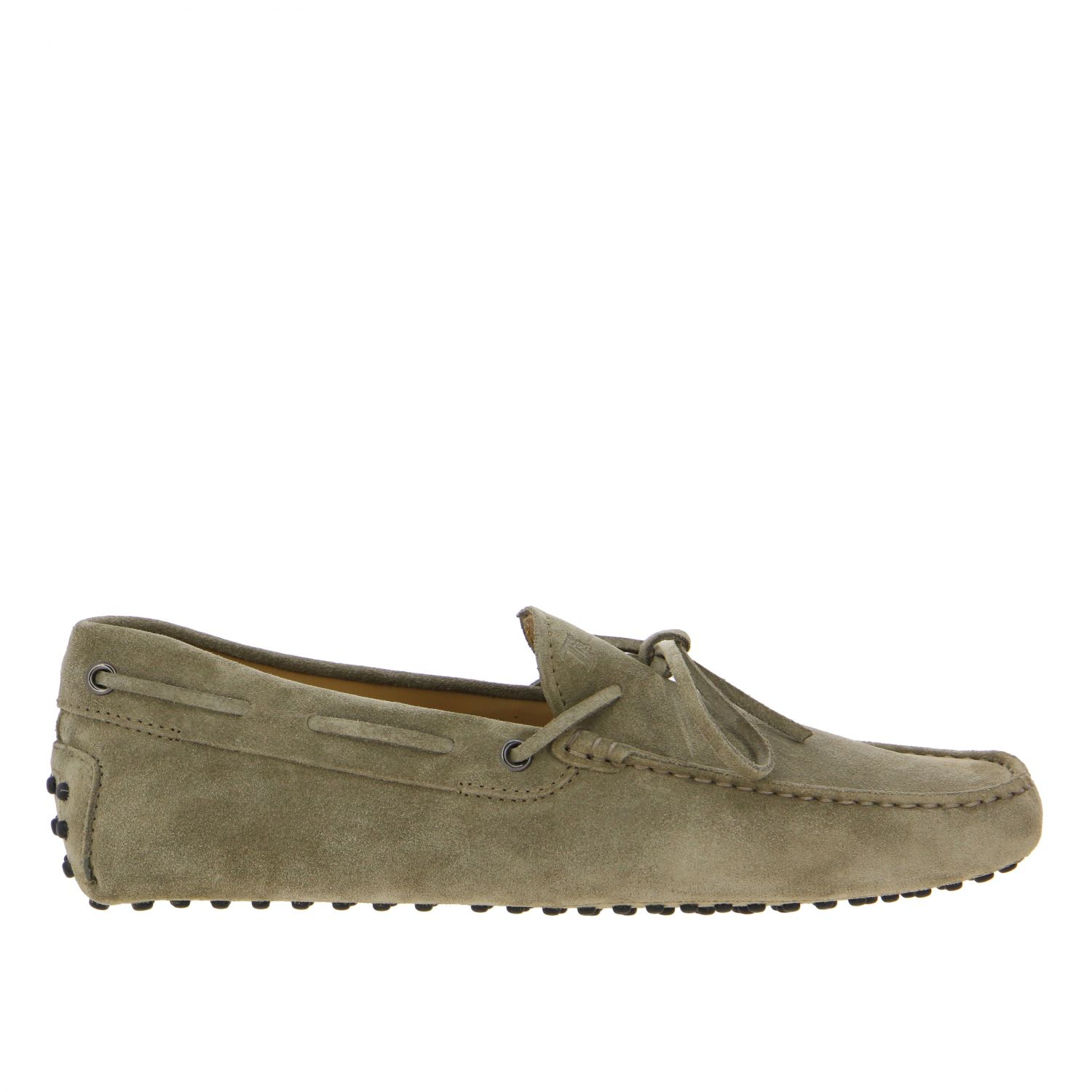 Tod's New Gommini moccasin in suede with strap beige 1