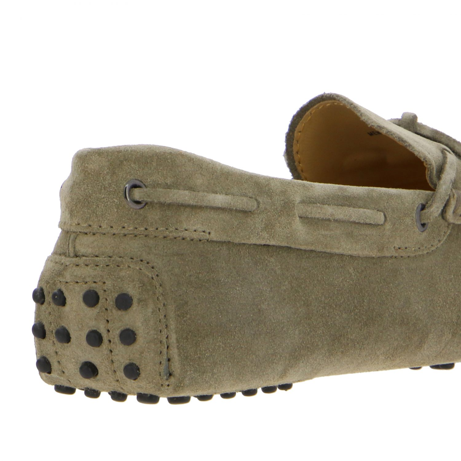 Tod's New Gommini moccasin in suede with strap beige 5