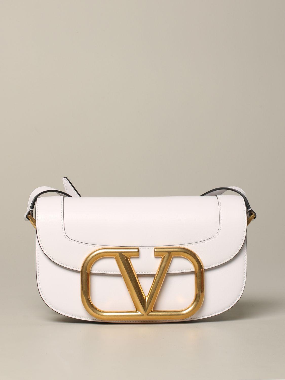 Shoulder bag women Valentino Garavani white 1