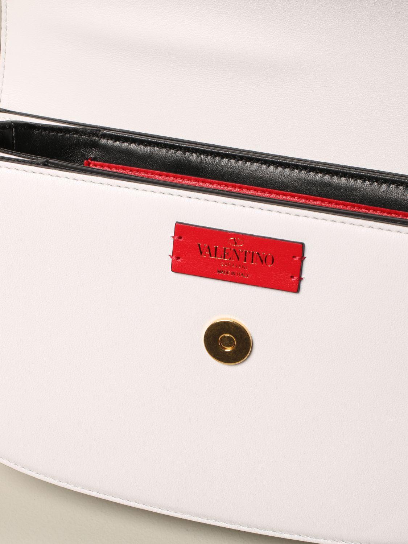 Shoulder bag women Valentino Garavani white 4