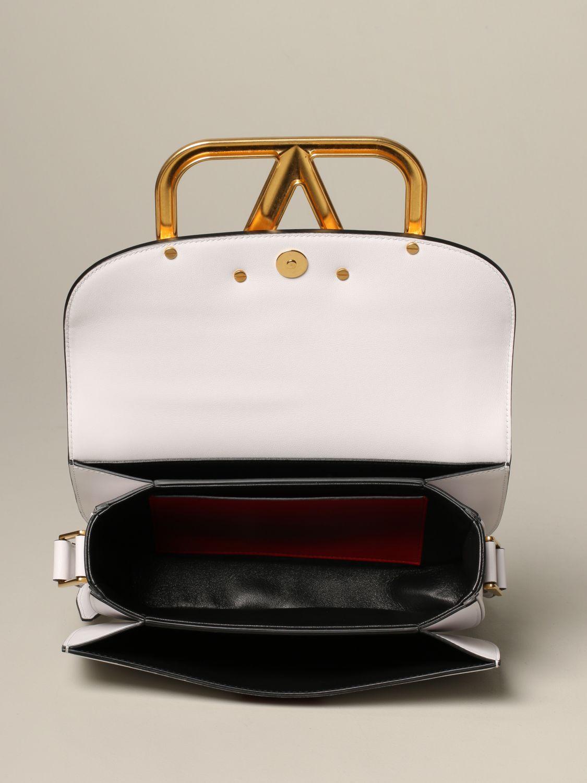 Shoulder bag women Valentino Garavani white 5