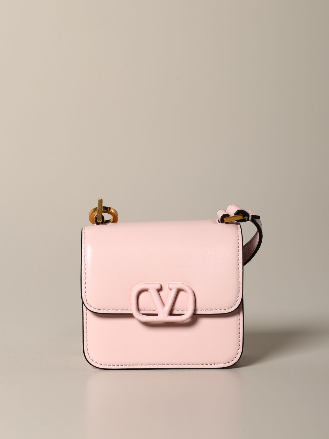 Mini bag Valentino Garavani: Shoulder bag women Valentino Garavani pink 1