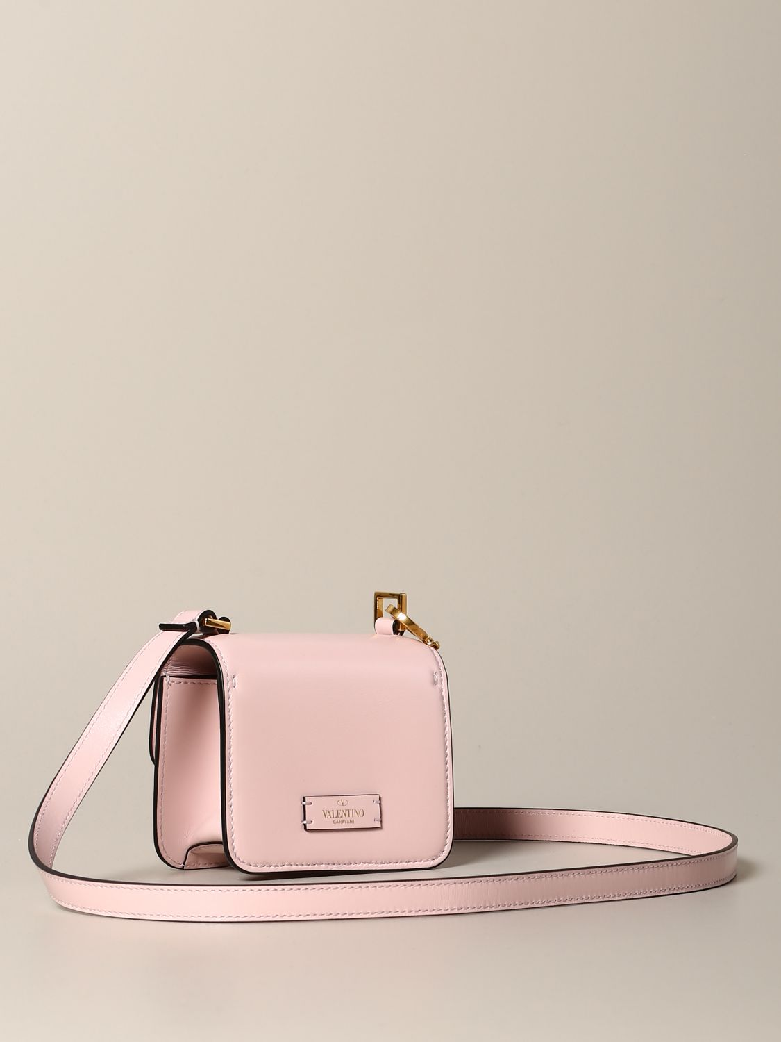 Mini bag Valentino Garavani: Shoulder bag women Valentino Garavani pink 3