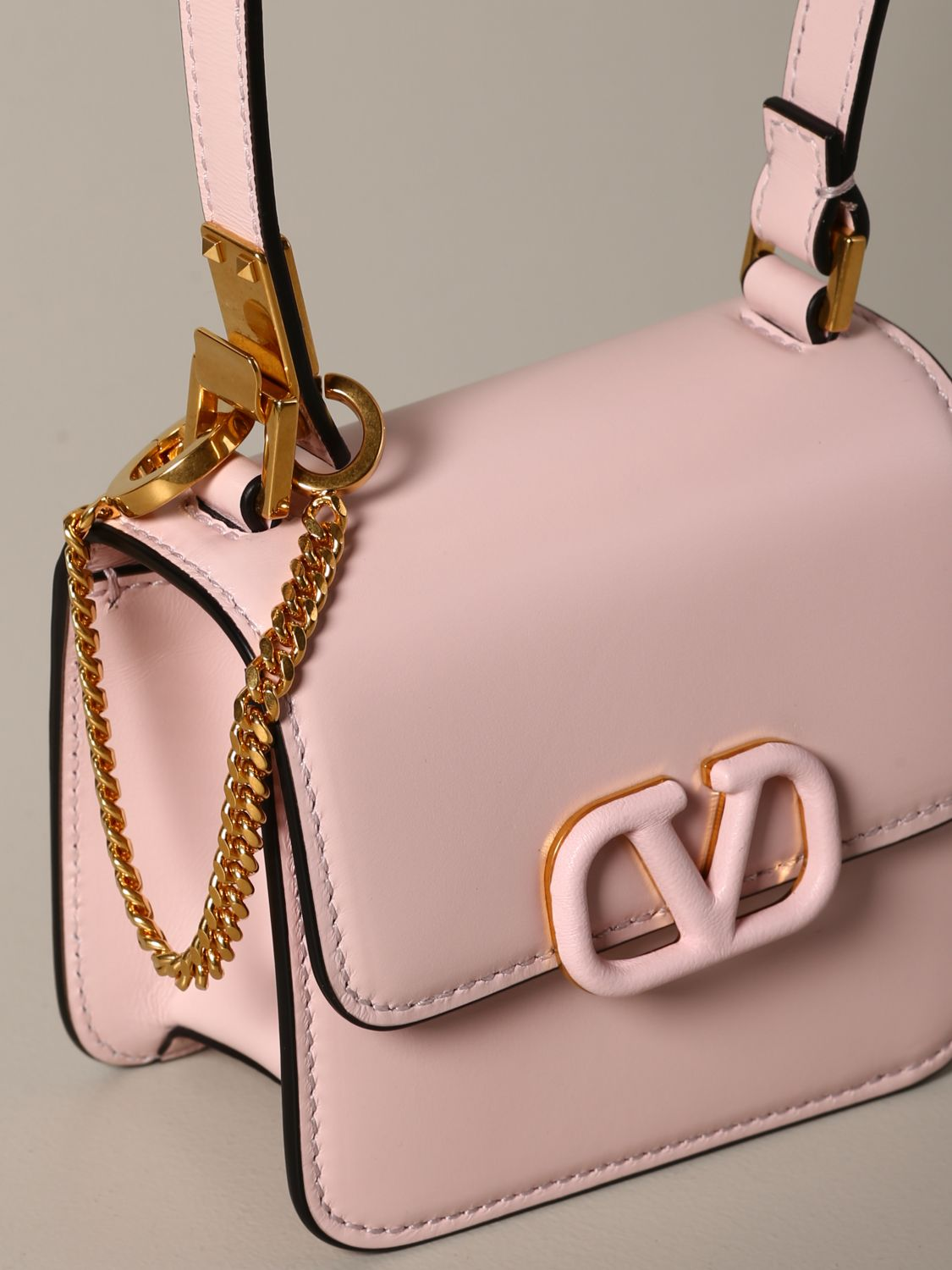 Mini bag Valentino Garavani: Shoulder bag women Valentino Garavani pink 4