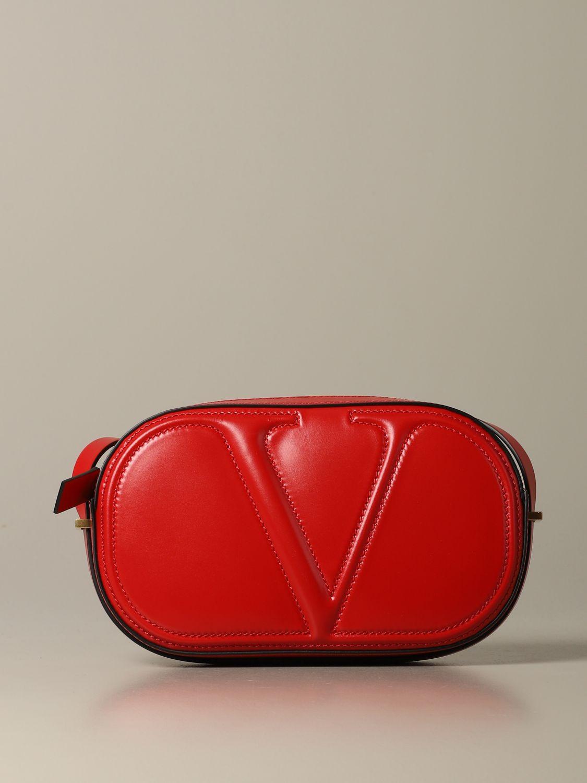 Shoulder bag women Valentino Garavani red 1