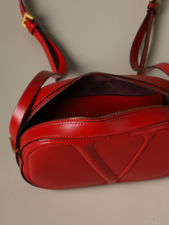 Shoulder bag women Valentino Garavani red 4