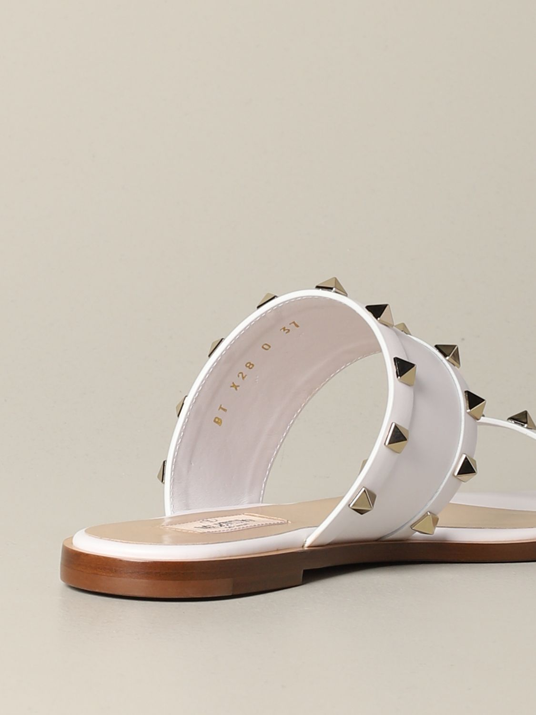 Обувь Женское Valentino Garavani белый 4