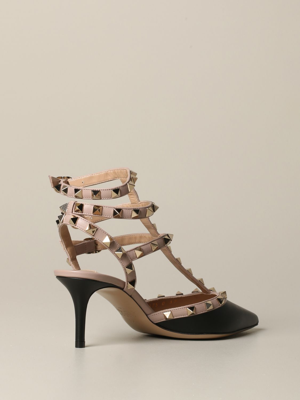 Valentino Garavani Rockstud pumps in leather black 5