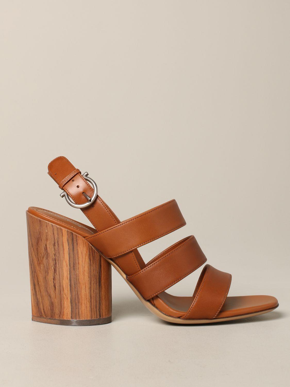 Shoes women Salvatore Ferragamo leather 1