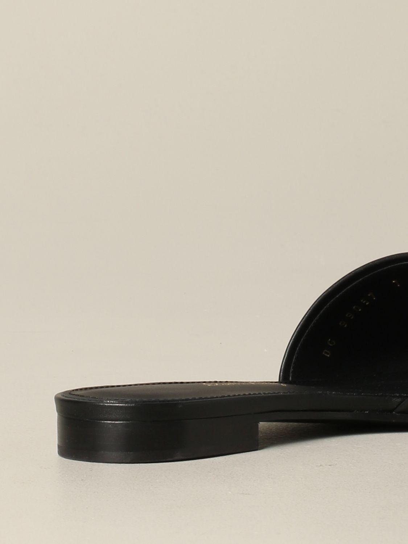 Salvatore Ferragamo Rhodes 地中海钩真皮凉鞋 黑色 5
