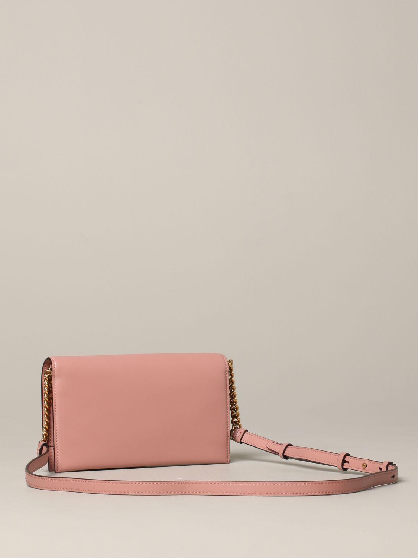 Salvatore Ferragamo Gancio square wallet 真皮手袋 粉色 3