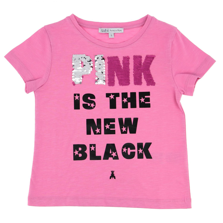 T-shirt enfant Patrizia Pepe fuchsia 1