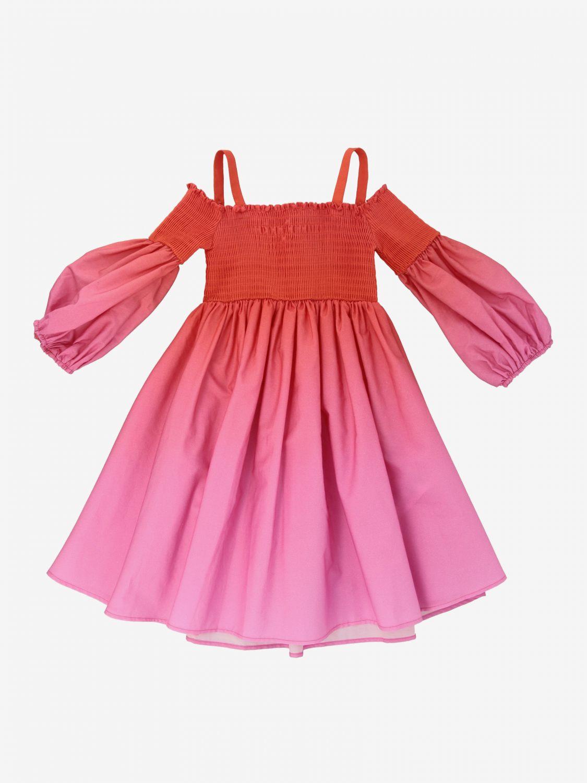 Dress kids Patrizia Pepe pink 1