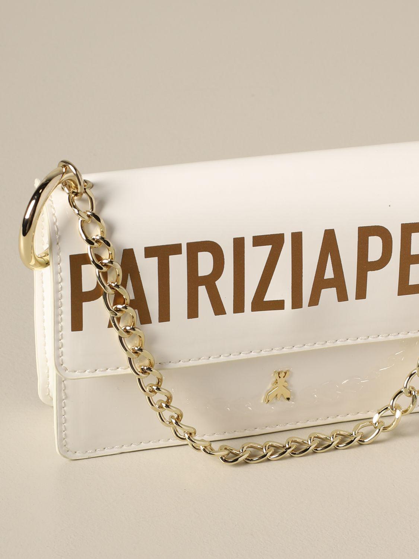 Patrizia Pepe Tasche / Gürteltasche mit Logo yellow cream 4