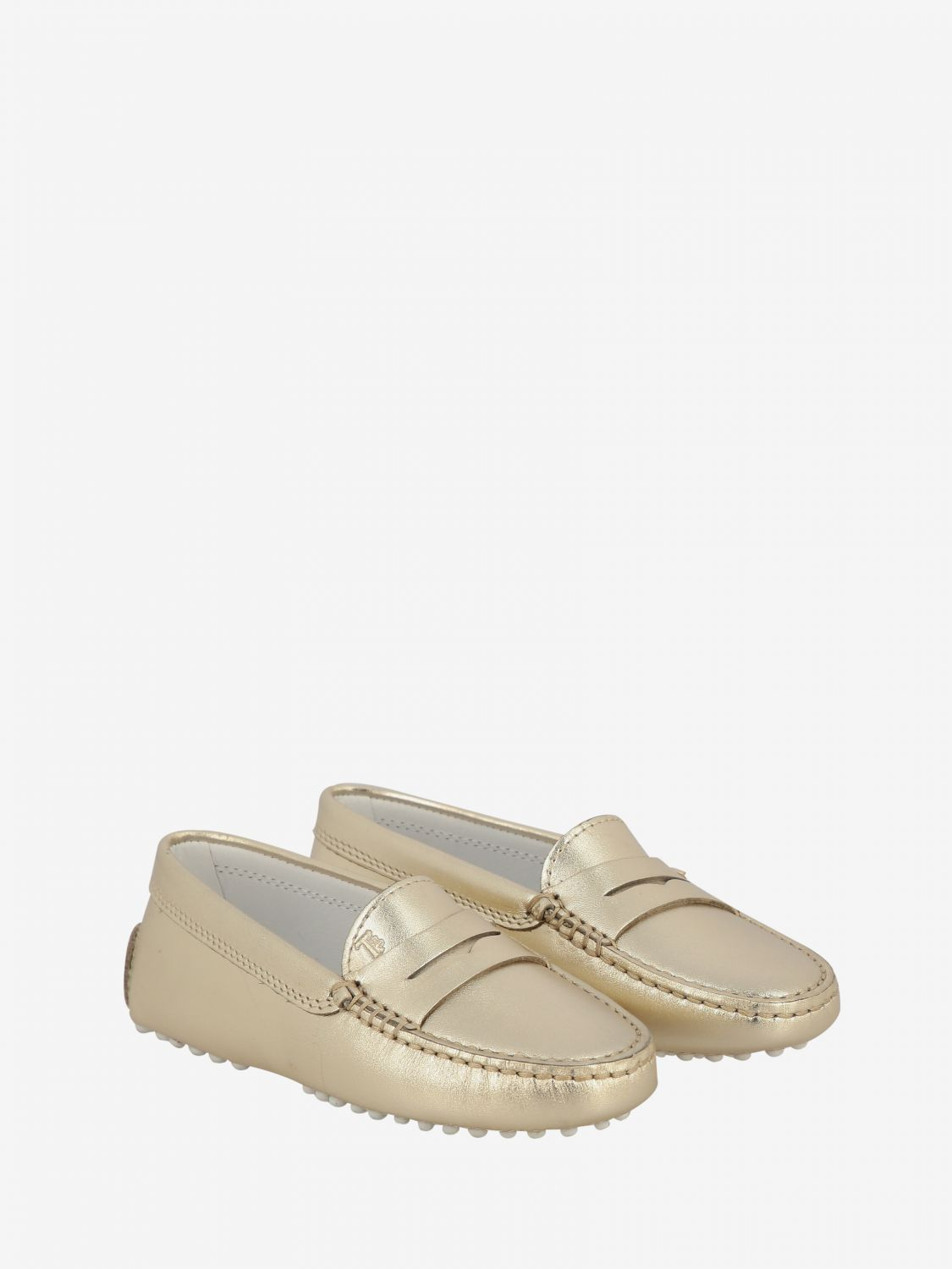 Shoes kids Tod's gold 2