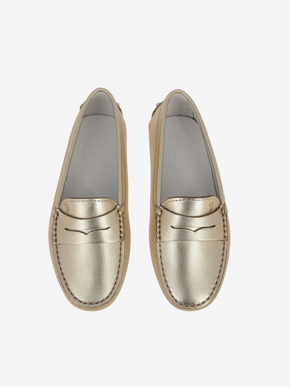 Shoes kids Tod's gold 3