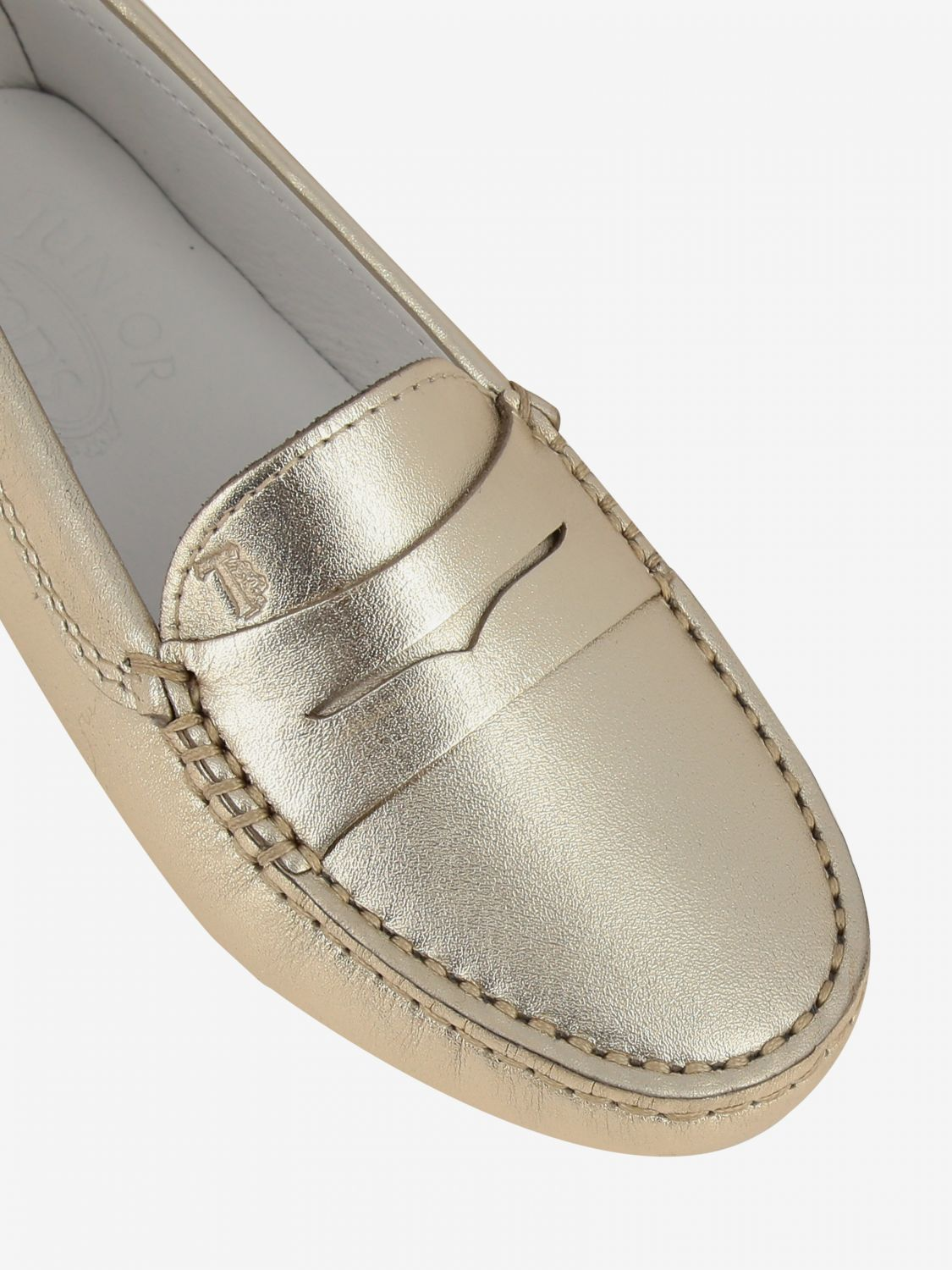 Shoes kids Tod's gold 4
