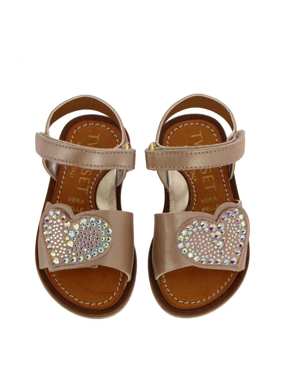 Shoes kids Twin Set pink 3