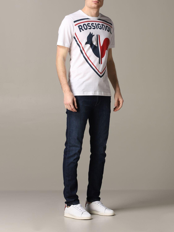 T-Shirt Rossignol: T-shirt herren Rossignol weiß 2