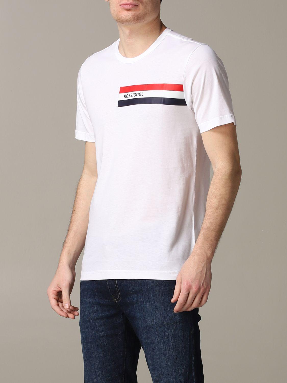 T-Shirt Rossignol: T-shirt herren Rossignol weiß 4