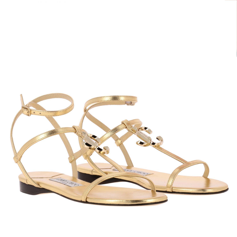 Shoes women Jimmy Choo gold 2