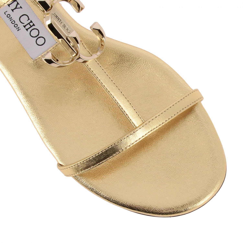 Shoes women Jimmy Choo gold 3