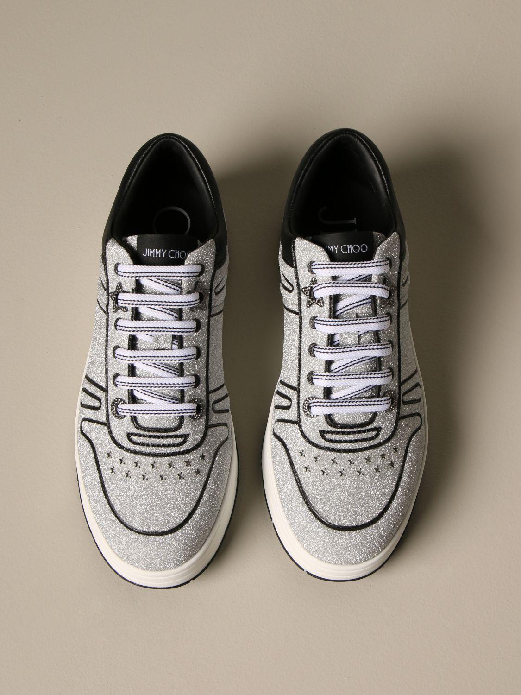 Спортивная обувь Jimmy Choo: Обувь Женское Jimmy Choo серебряный 3