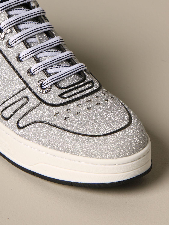 Спортивная обувь Jimmy Choo: Обувь Женское Jimmy Choo серебряный 4