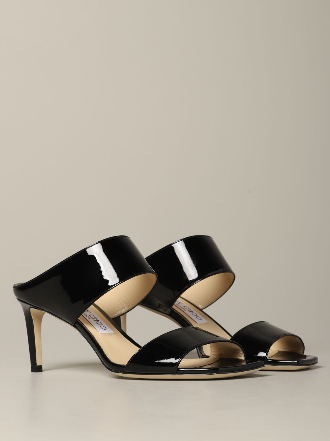 Heeled sandals Jimmy Choo: Shoes women Jimmy Choo black 2
