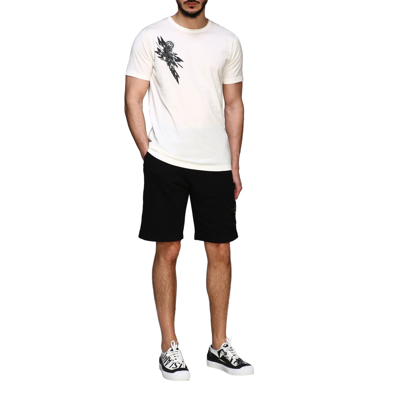 T恤 男士 Stone Island 白色 2