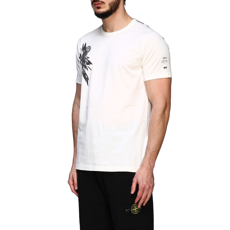 T恤 男士 Stone Island 白色 4