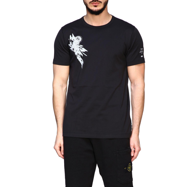 T恤 男士 Stone Island 黑色 1