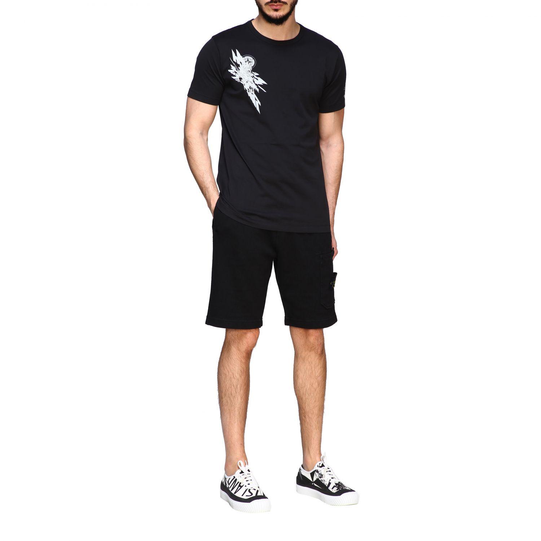 T恤 男士 Stone Island 黑色 2